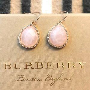 🎉2xHP🎉 Rose Quartz Swarovski Crystal Earrings 💕